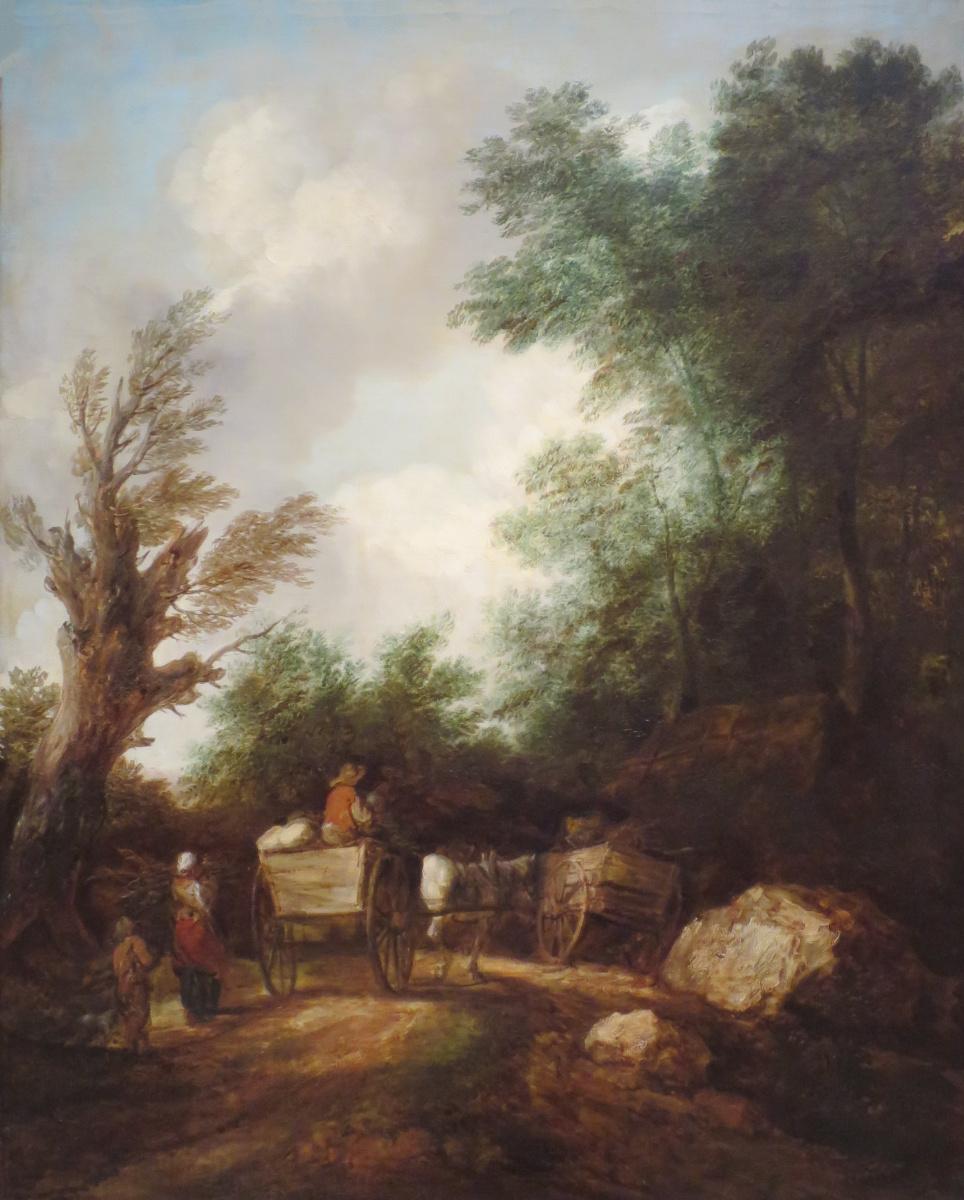 Томас Гейнсборо. Пейзаж с крестьянской повозкой