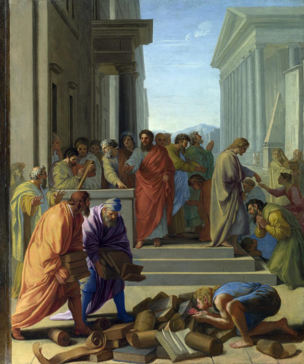 Ле Саер Евстафия. Святой Павел проповедует в Эфесе