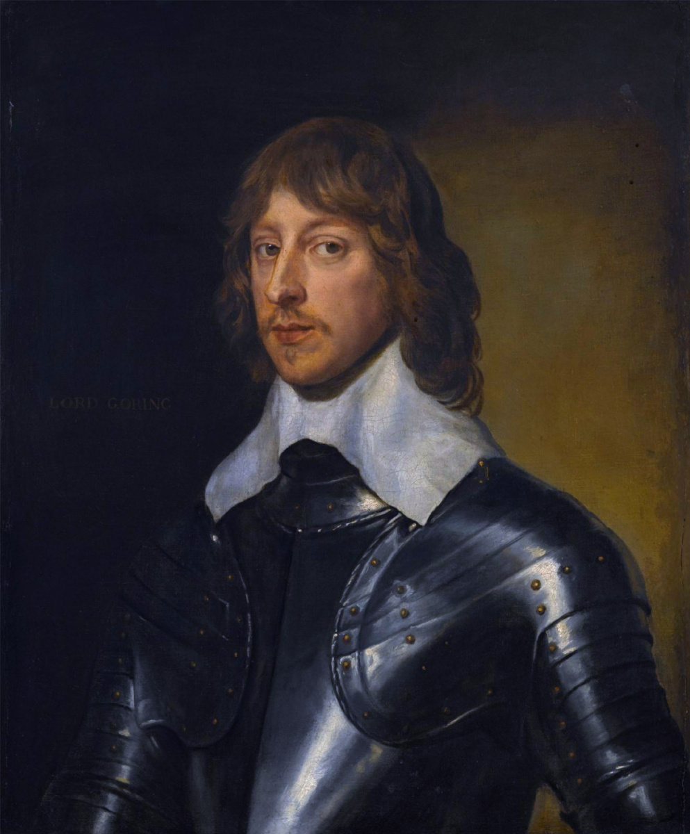 Anthony van Dyck. George, Baron Goring