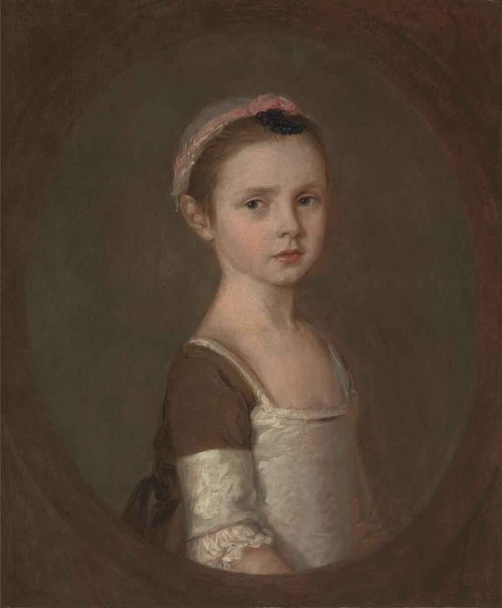 Thomas Gainsborough. Miss Susanna Gardiner