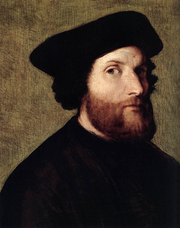Лоренцо Лотто. Мужской портрет