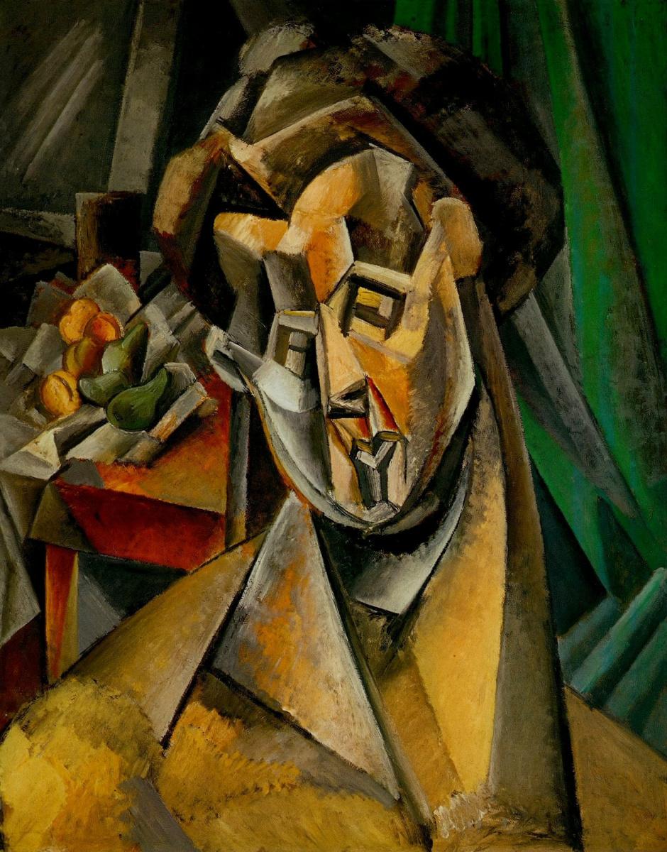 Пабло Пикассо. Женщина с грушами. Фернанда
