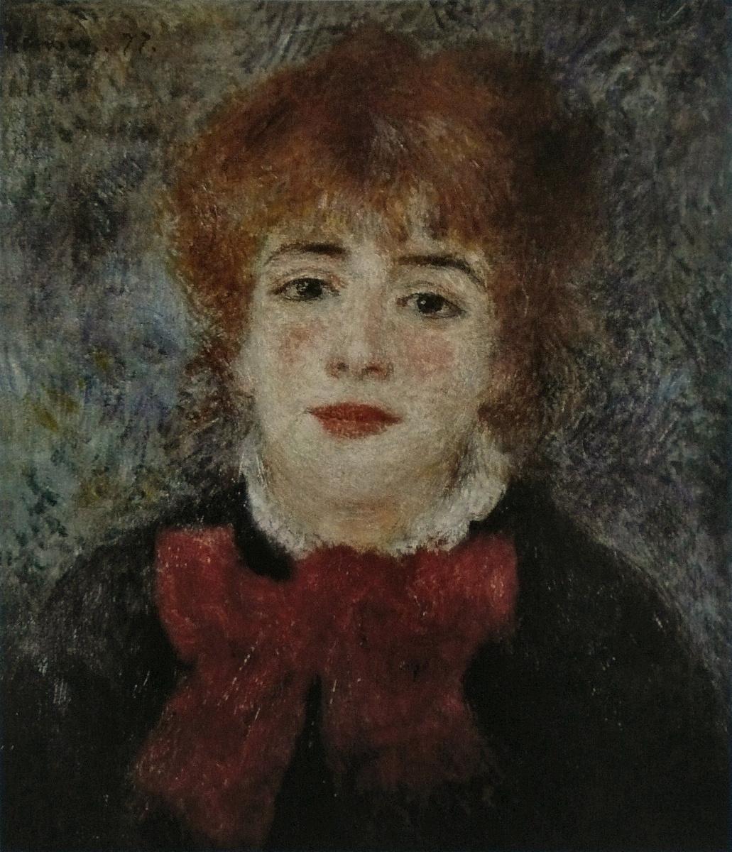 Pierre-Auguste Renoir. Portrait Of Jeanne Samari