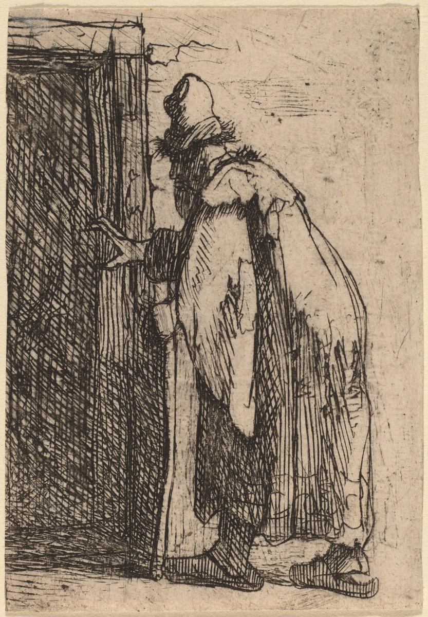 Rembrandt Harmenszoon van Rijn. The Blindness of Tobit: a Sketch
