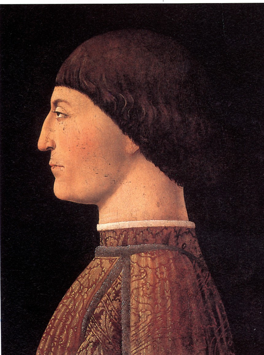 Пьеро делла Франческа. Портрет Сиджизмондо Малатеста