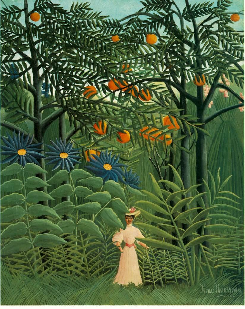 галереи женщин в лесу