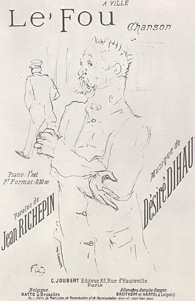 "Анри де Тулуз-Лотрек. Плакат ""Шут"""