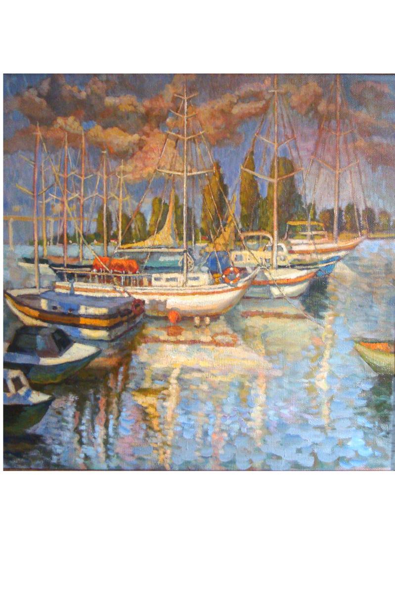 Sofia Rychanova. Yachts-on-don