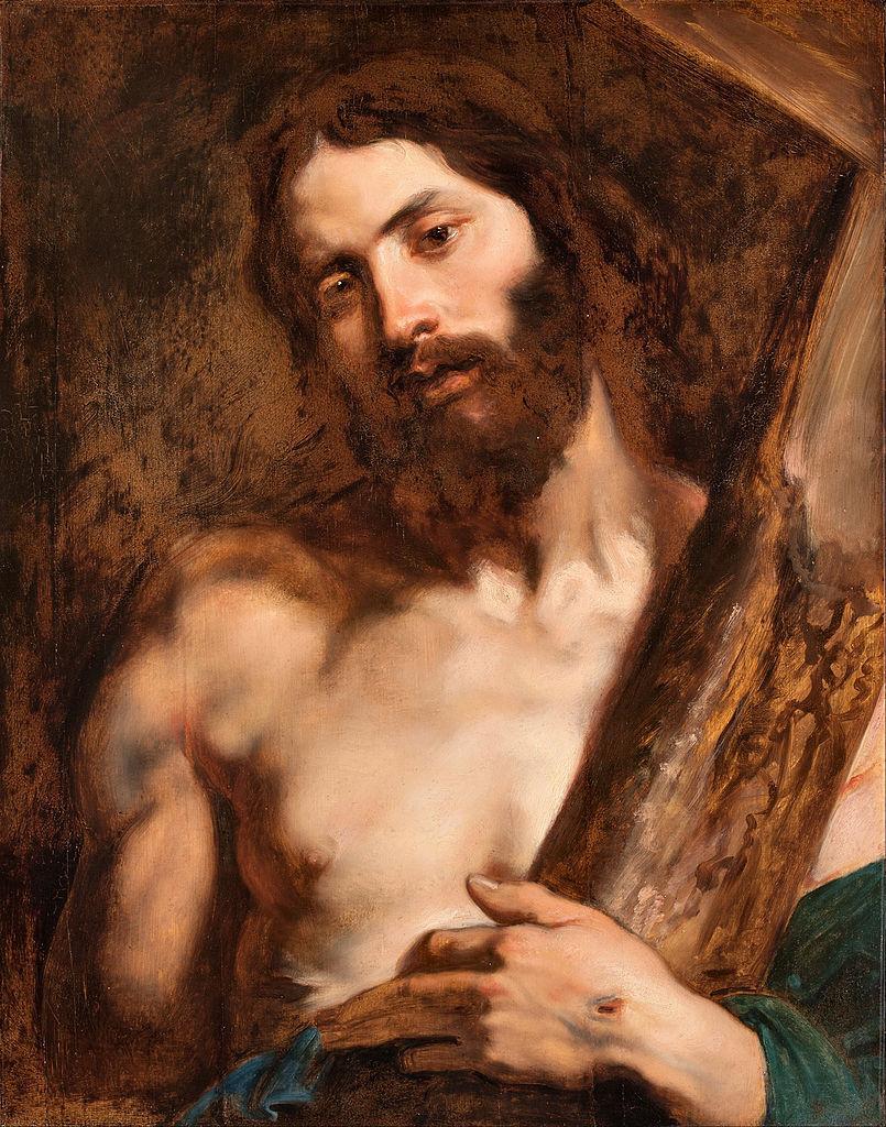 Антонис ван Дейк. Христос, несущий крест