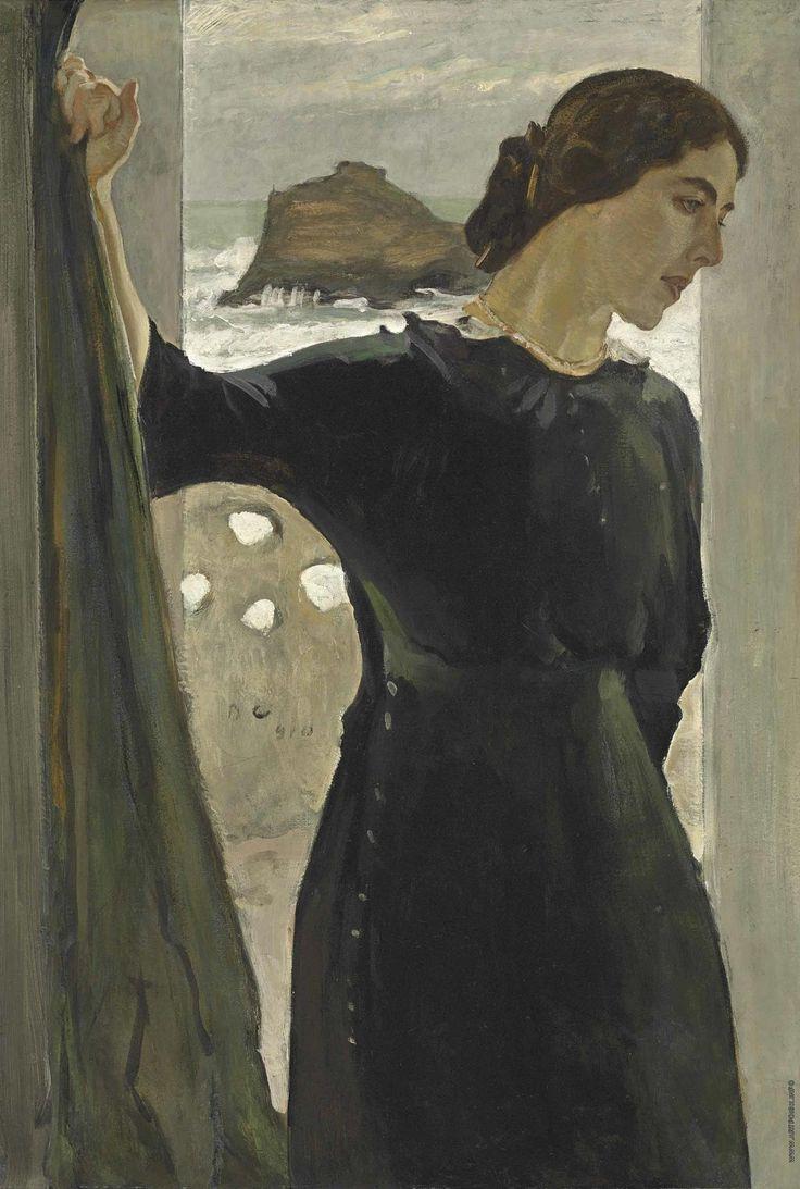 Valentin Aleksandrovich Serov. Portrait of Maria Zetlin