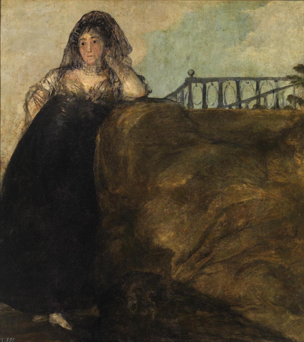 Francisco Goya. Leocadia Zorrilla (the housekeeper of the artist)