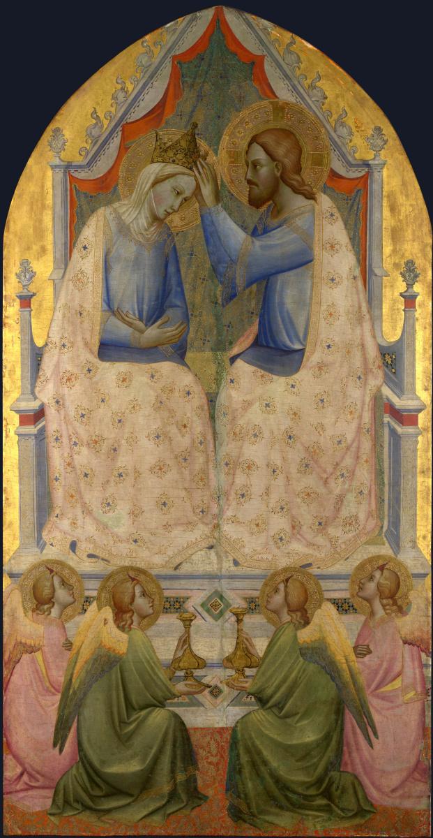 Аньоло Гадди. Коронация Девы Марии