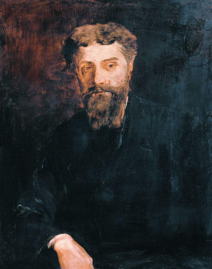 Михай Либ Мункачи. Портрет врача Доре