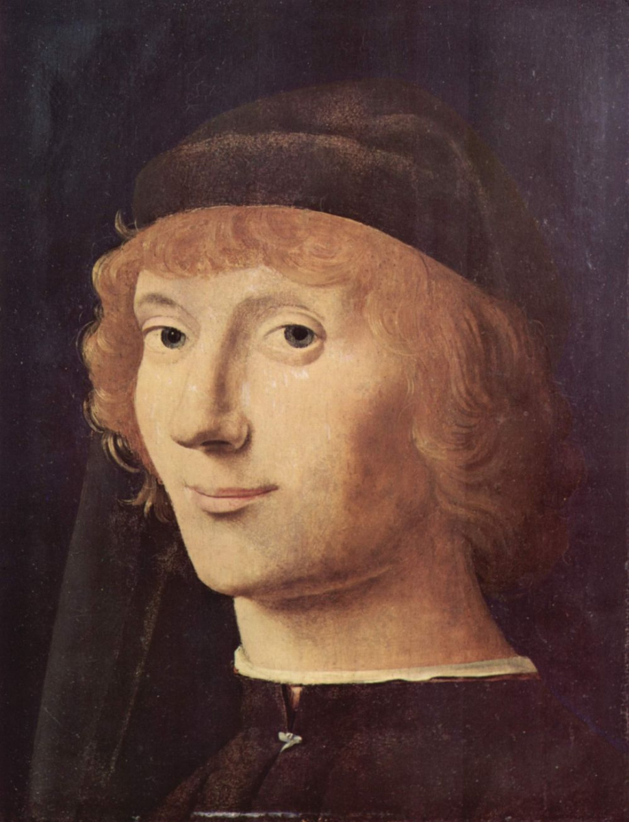 Антонелло да Мессина. Портрет молодого человека
