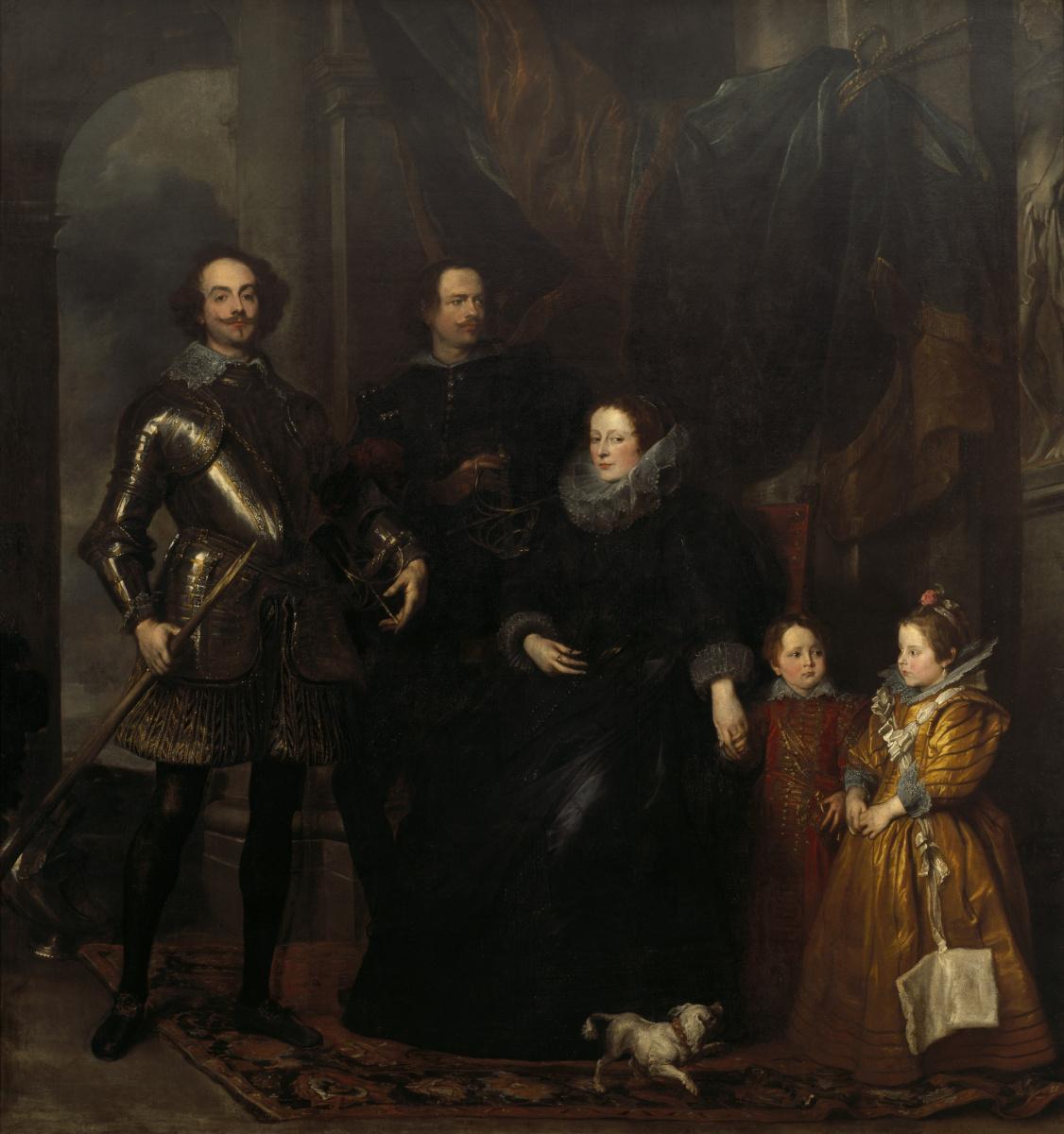 Антонис ван Дейк. Портрет семьи Ломеллини