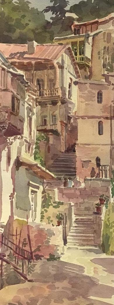 Anastasia Bromel. Old city
