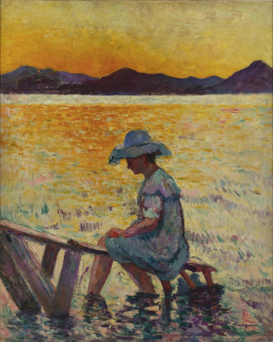 Henri Manguin. Saint-Tropez, sunset