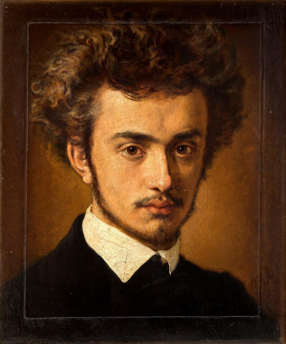 Ян Матейко. Портрет Антонио Серафиньского II