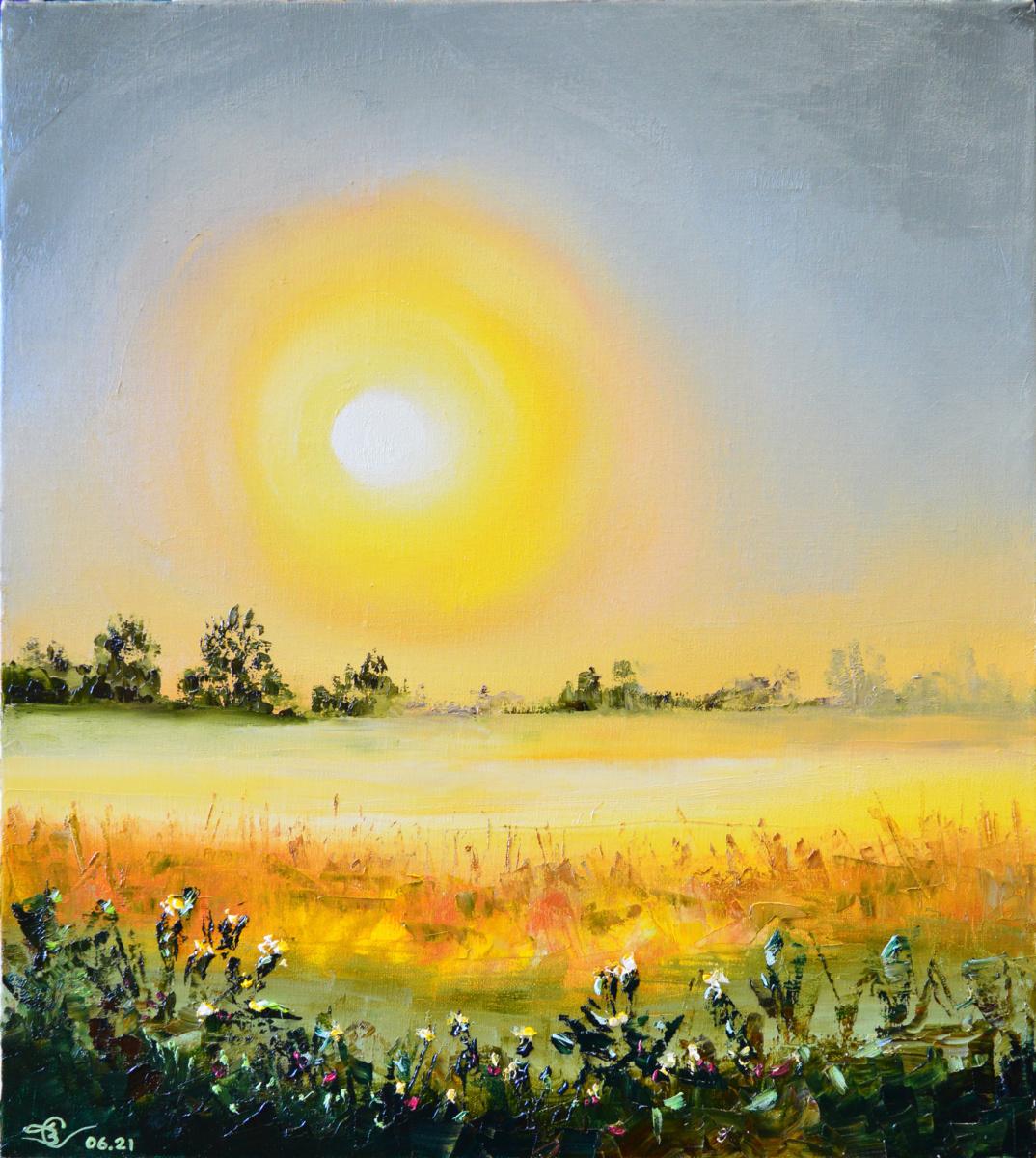 Vadim Anatolyevich Stolyarov. Mystical sunset