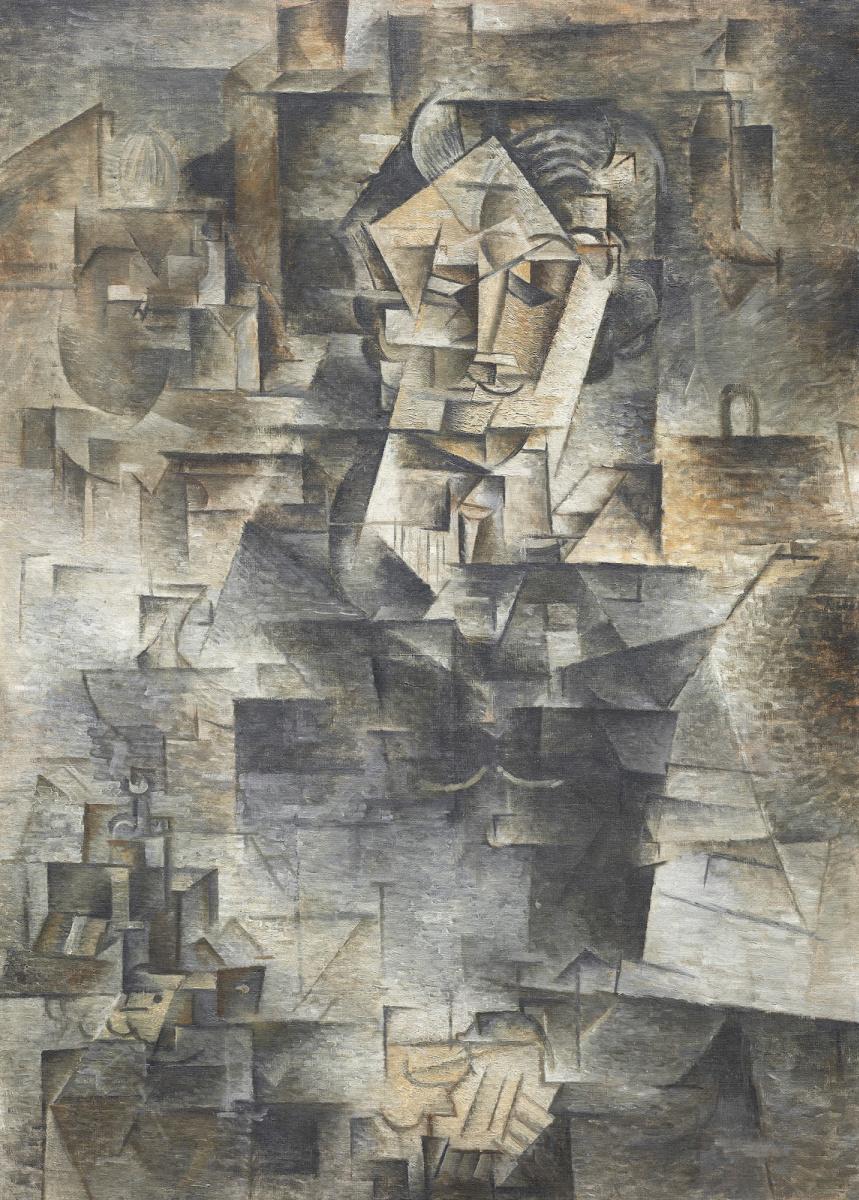 Пабло Пикассо. Портрет Даниэля Анри Канвейлера