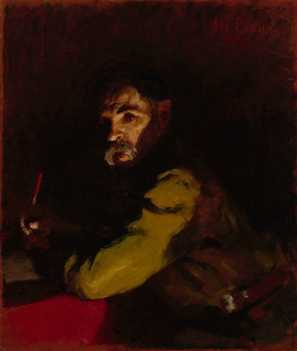 Ilya Efimovich Repin. Writing doctor