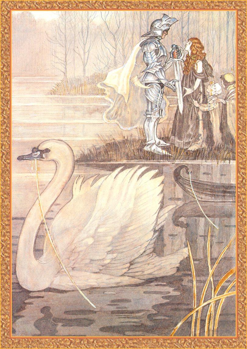 Юлек Хеадон Деидр Хеллер. Иллюстрации к книге Рыцари. Лоенгрин 01
