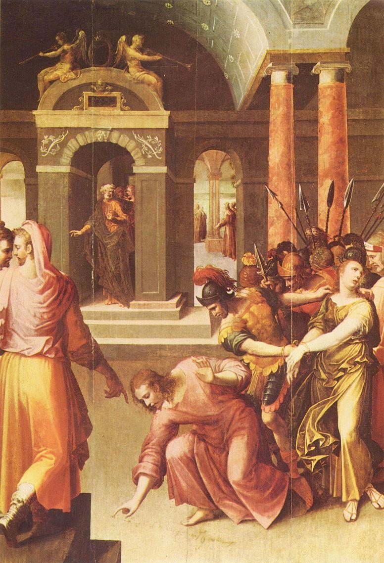 Antoine Karon. Christ and the sinner