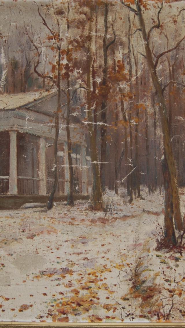 Pavel Petrovich Benkov. First snow
