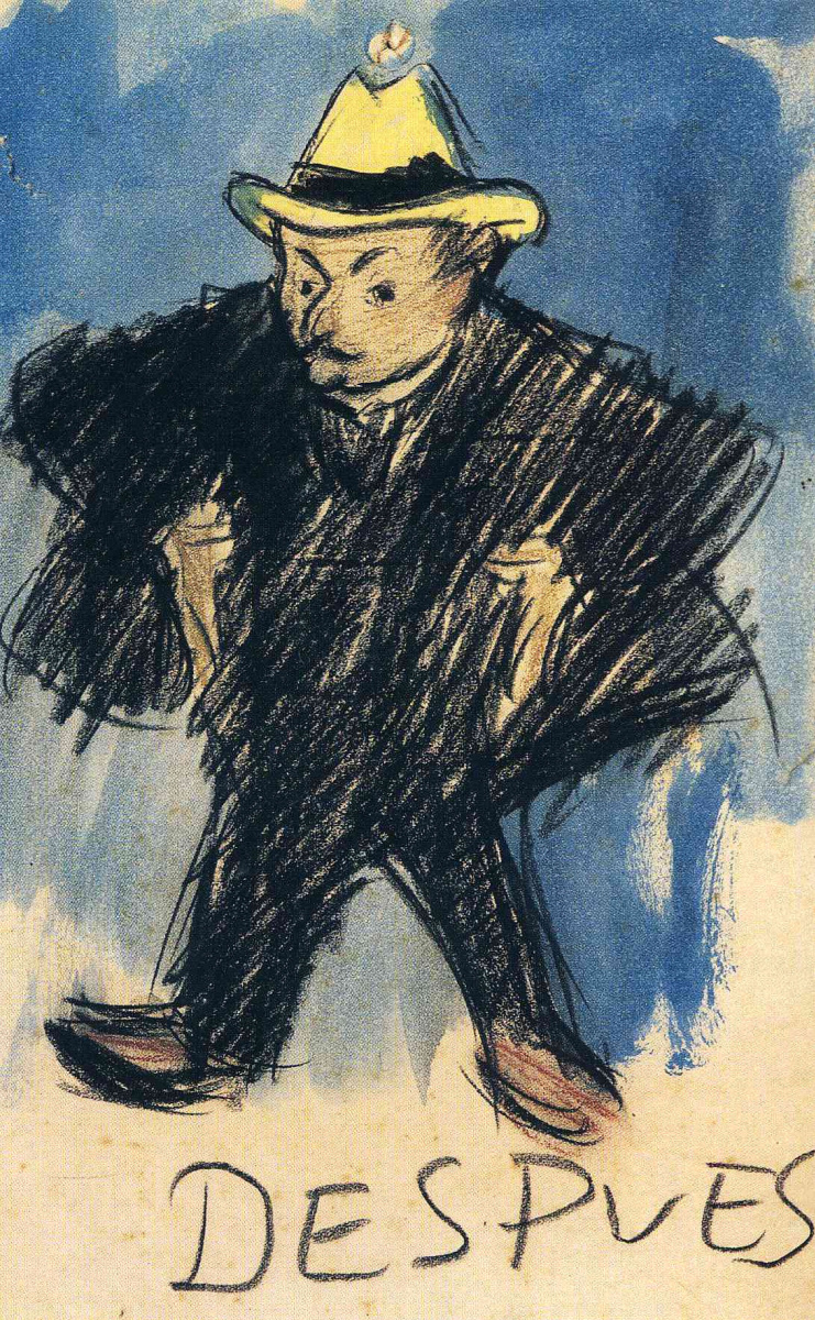 Пабло Пикассо. Желтая шляпа