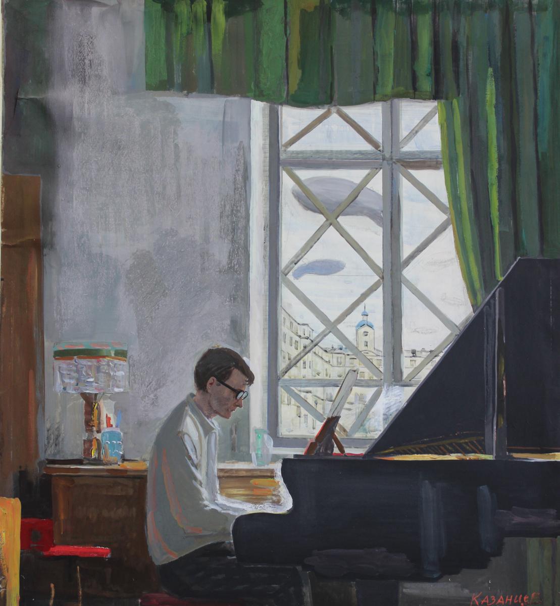 Eugene Alexandrovich Kazantsev. D.D. Shostakovich. 1941