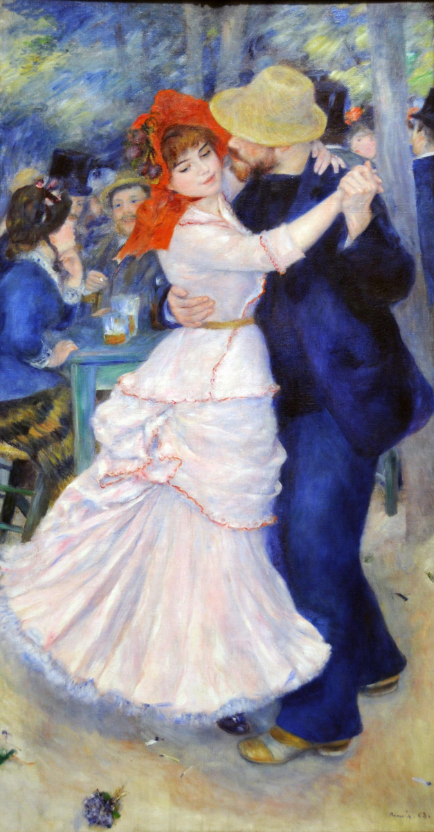 Pierre-Auguste Renoir. Dance in Bougival