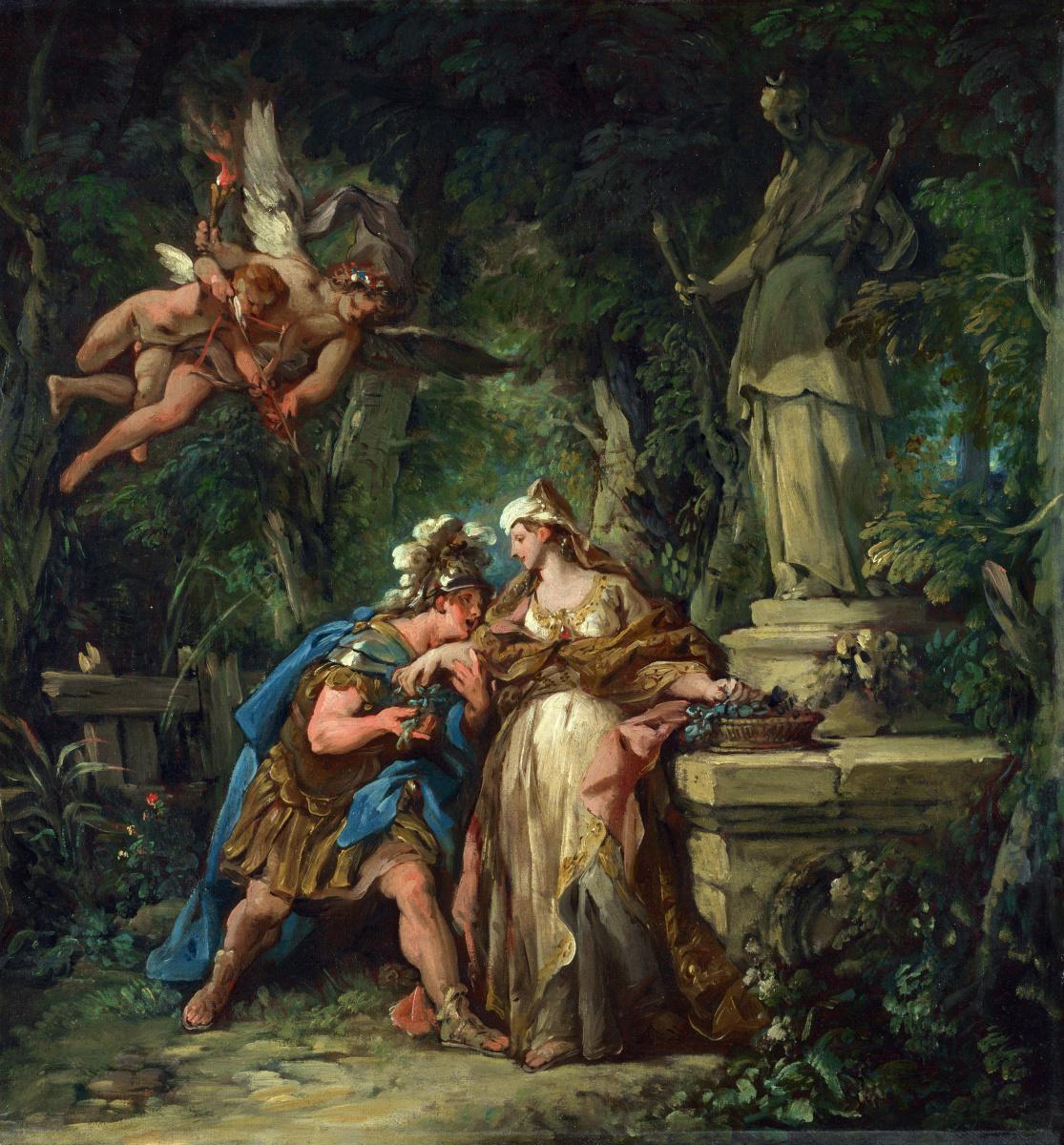 Жан-Франсуа Детрой. Джейсон присягаяет на вечную любовь к Медее
