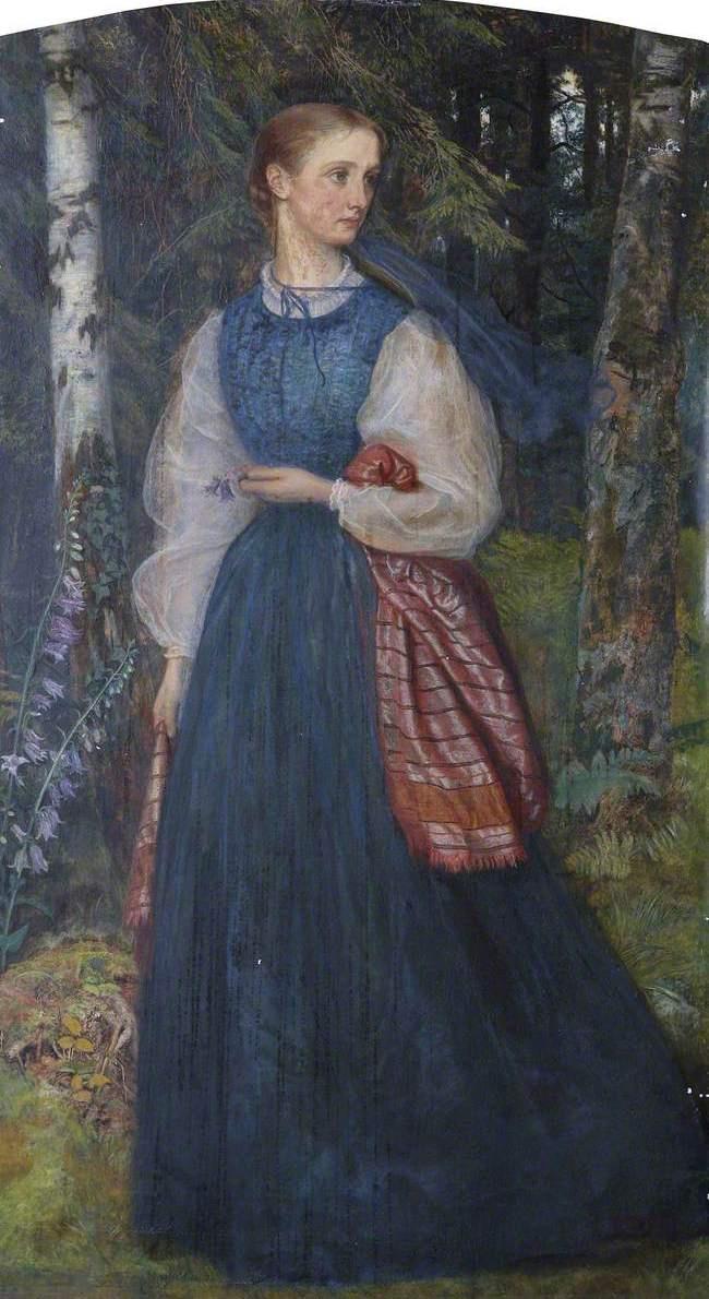 Arthur Hughes. Mrs. Thomas Wulner, nee Alice Gertrude Vog