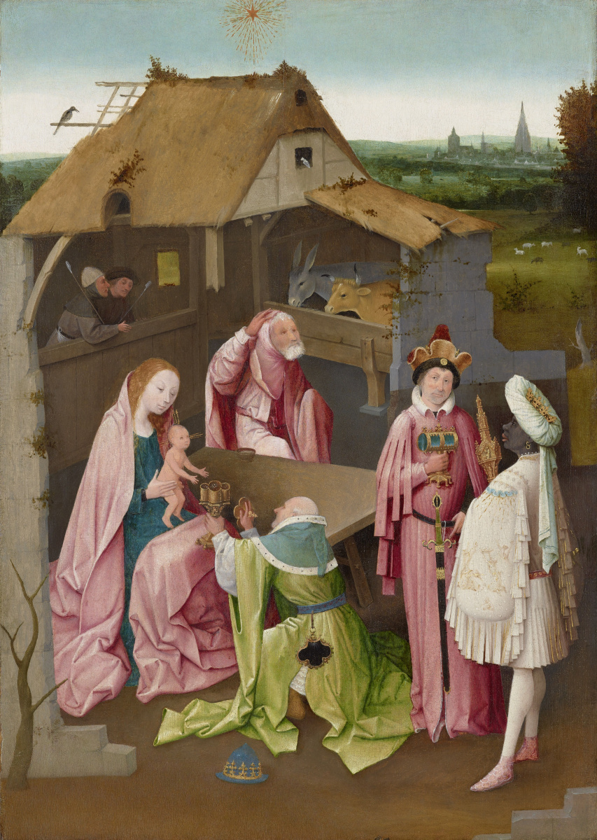 Hieronymus Bosch. The adoration of the Magi