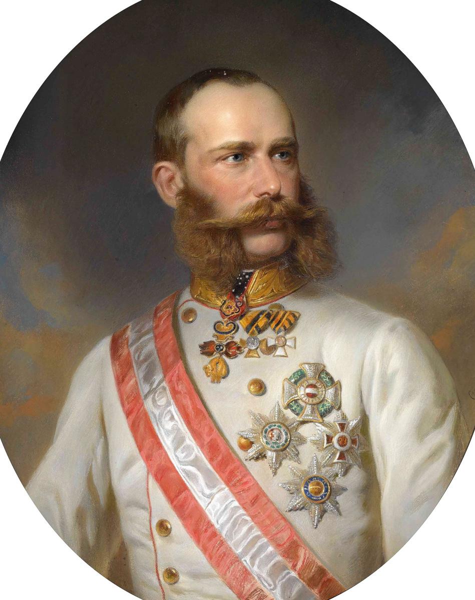 Франц Ксавер Винтерхальтер. Император Австрии Франс Иосиф I