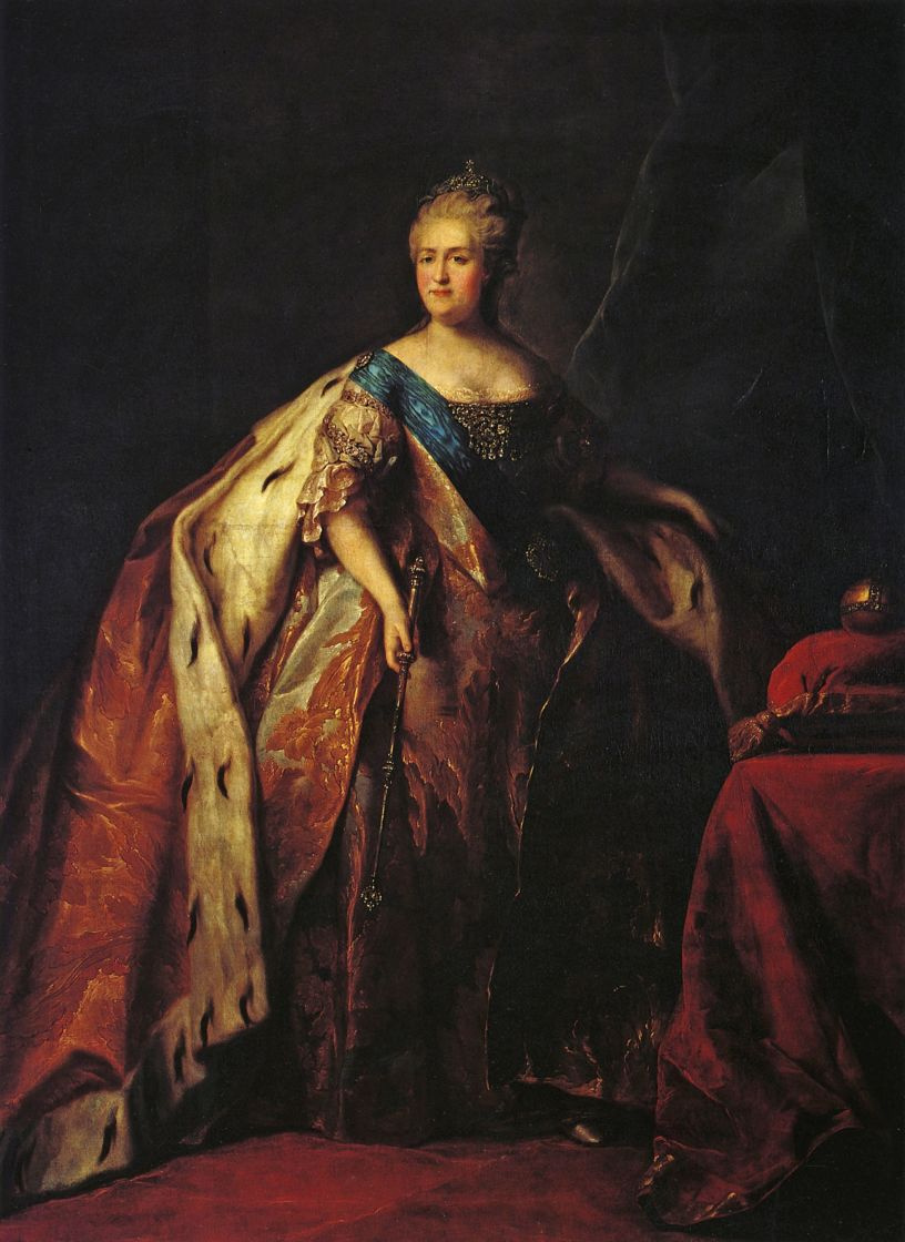 a biography of catherine the great empress of russia