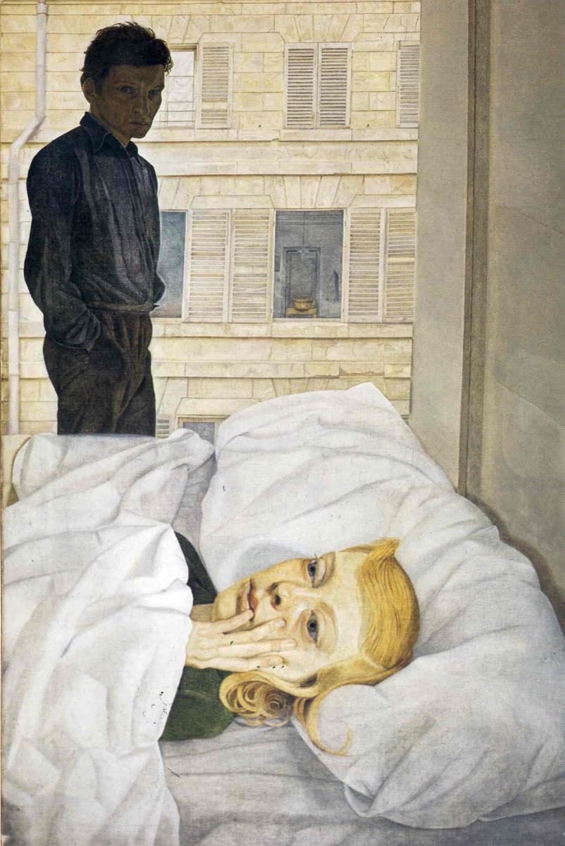 Люсьен Фрейд. Комната в гостинице