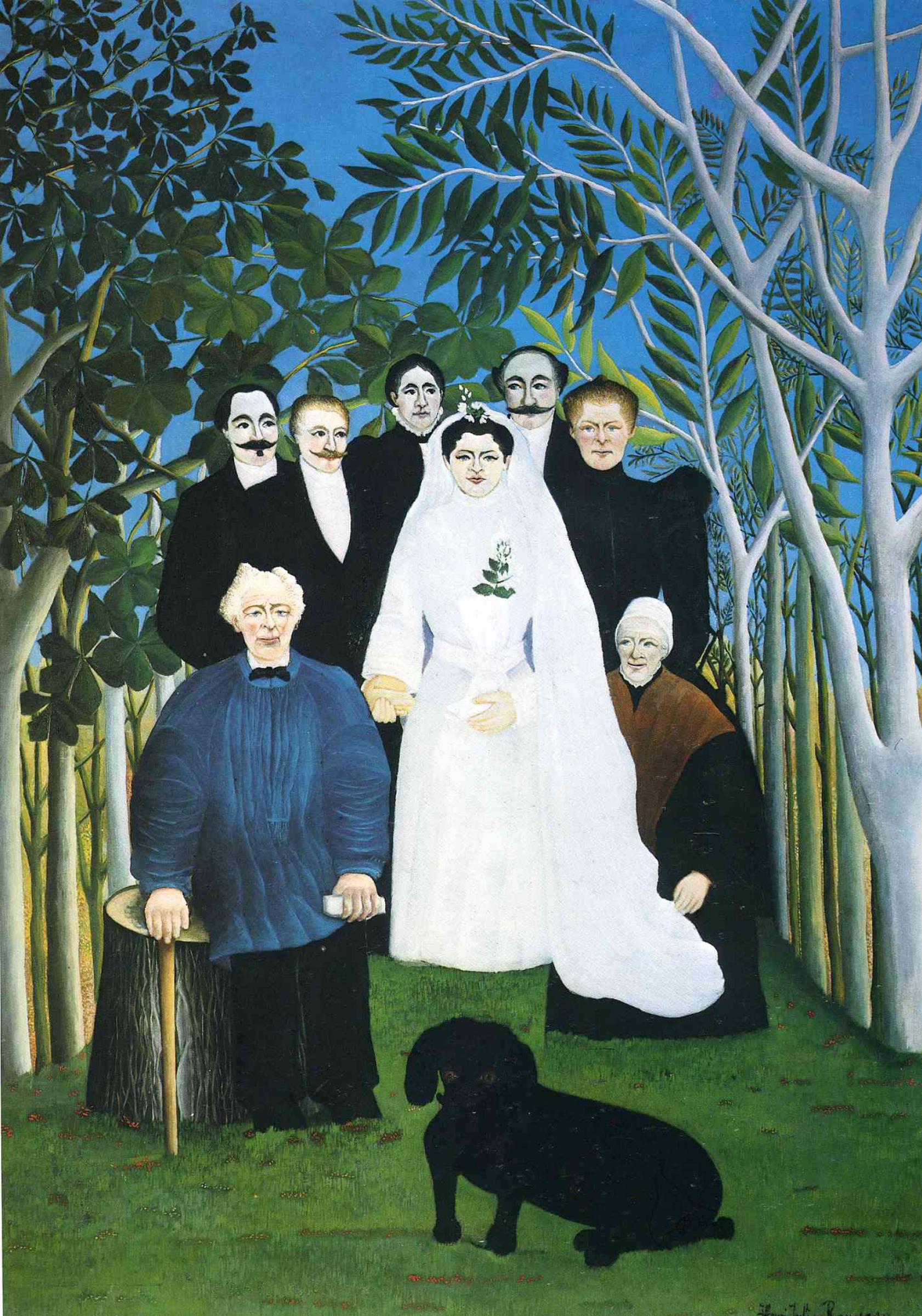Henri Rousseau. Wedding