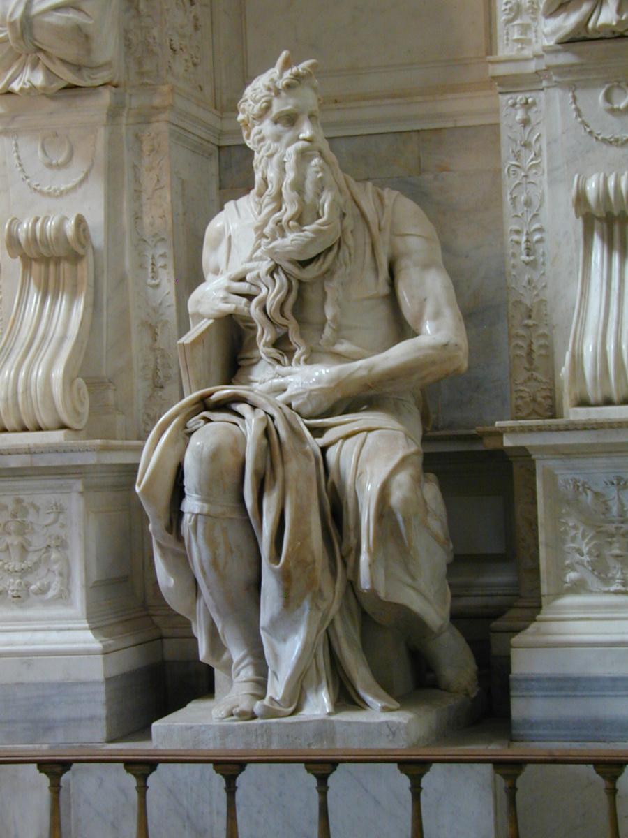 Микеланджело Буонарроти. Моисей.