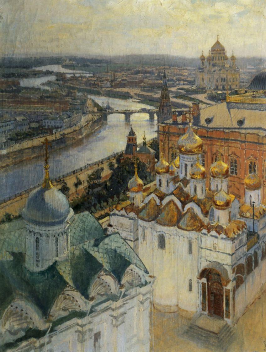 Николай Николаевич Гриценко. Вид на Москву с колокольни Ивана Великого