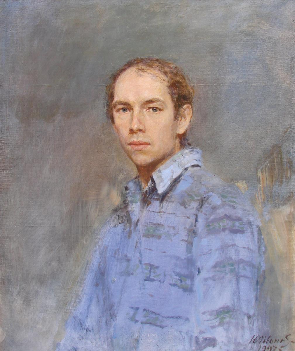 Yuri Gennadyevich Ivanov. Self-portrait
