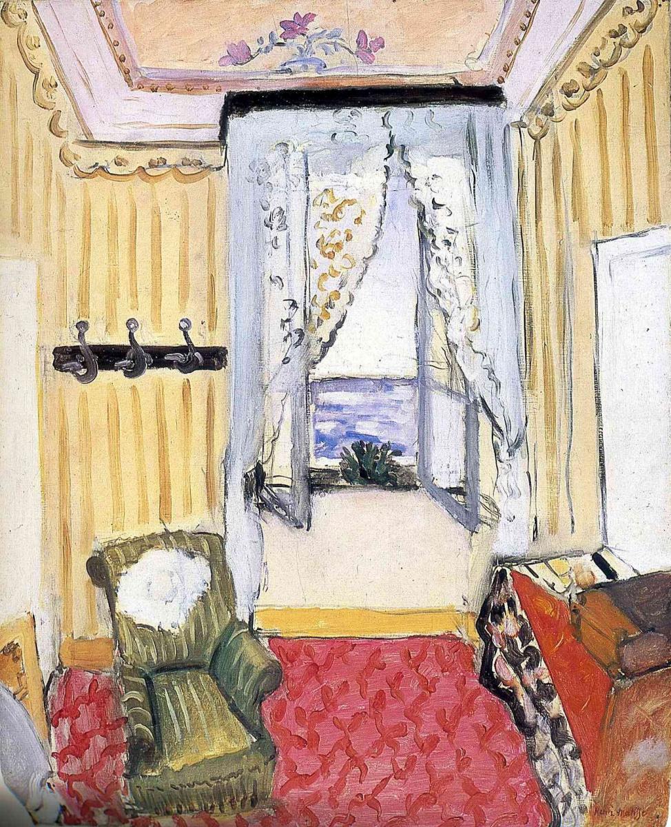 Анри Матисс. Моя комната в Бью Риваж