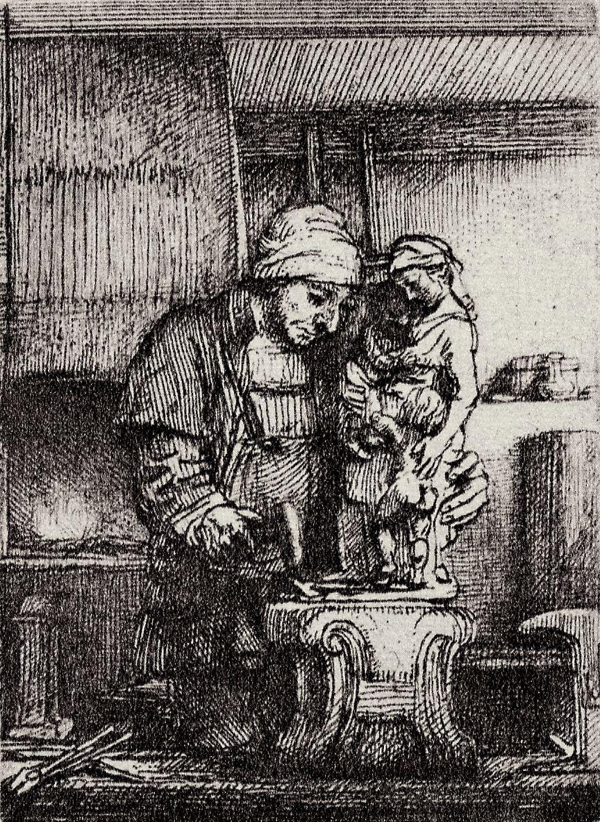 Рембрандт Харменс ван Рейн. Ювелир