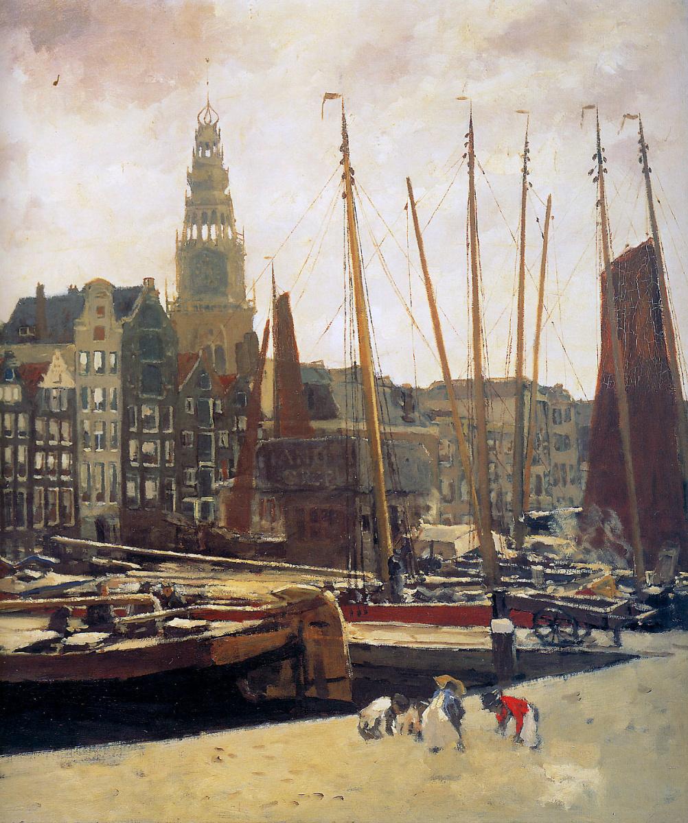 Georg Hendrik Breitner. In Amsterdam