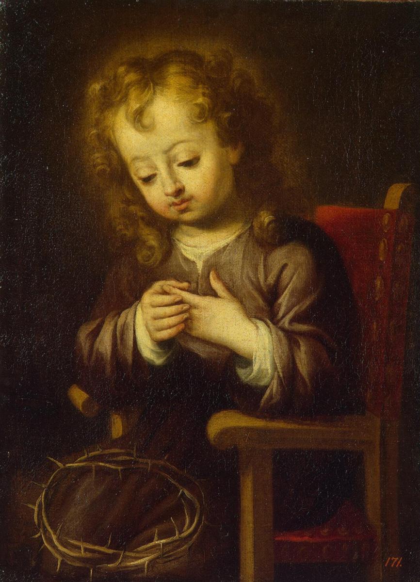 Бартоломе Эстебан Мурильо. Ребенок, уколовшийся терновым венцом