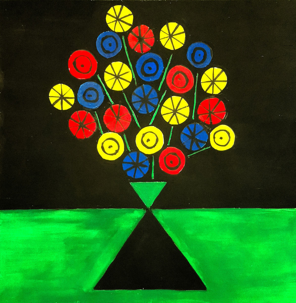 Roman Mastryansky. Colors of flowers