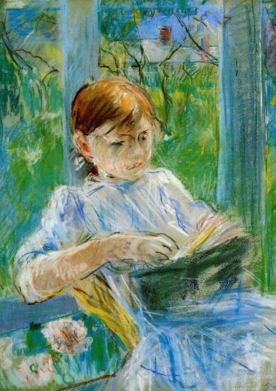 Берта Моризо. Портрет дочери художницы, Жюли Мане