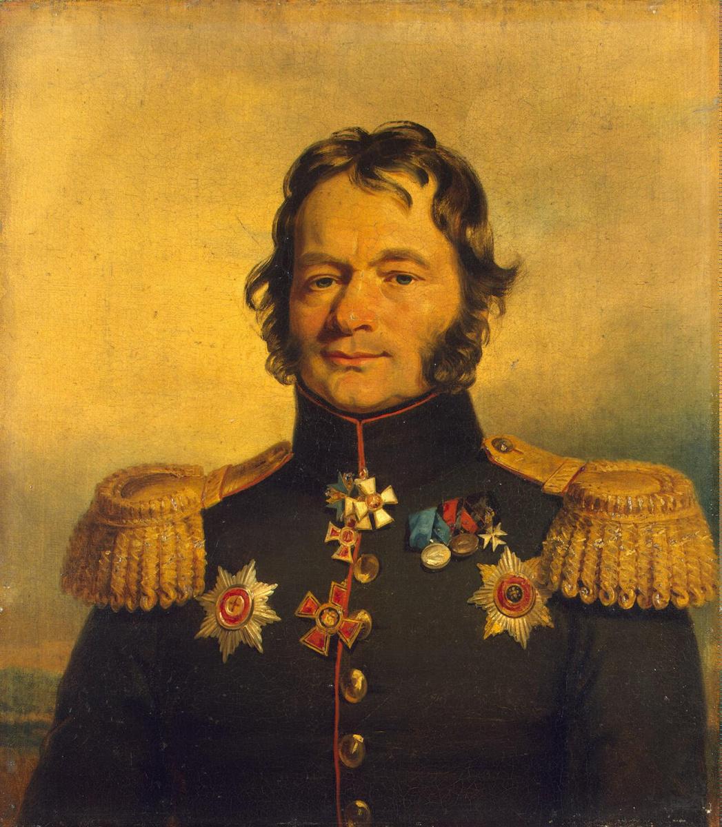 George Dow. Portrait of Vasily Grigorievich Kostenetsky