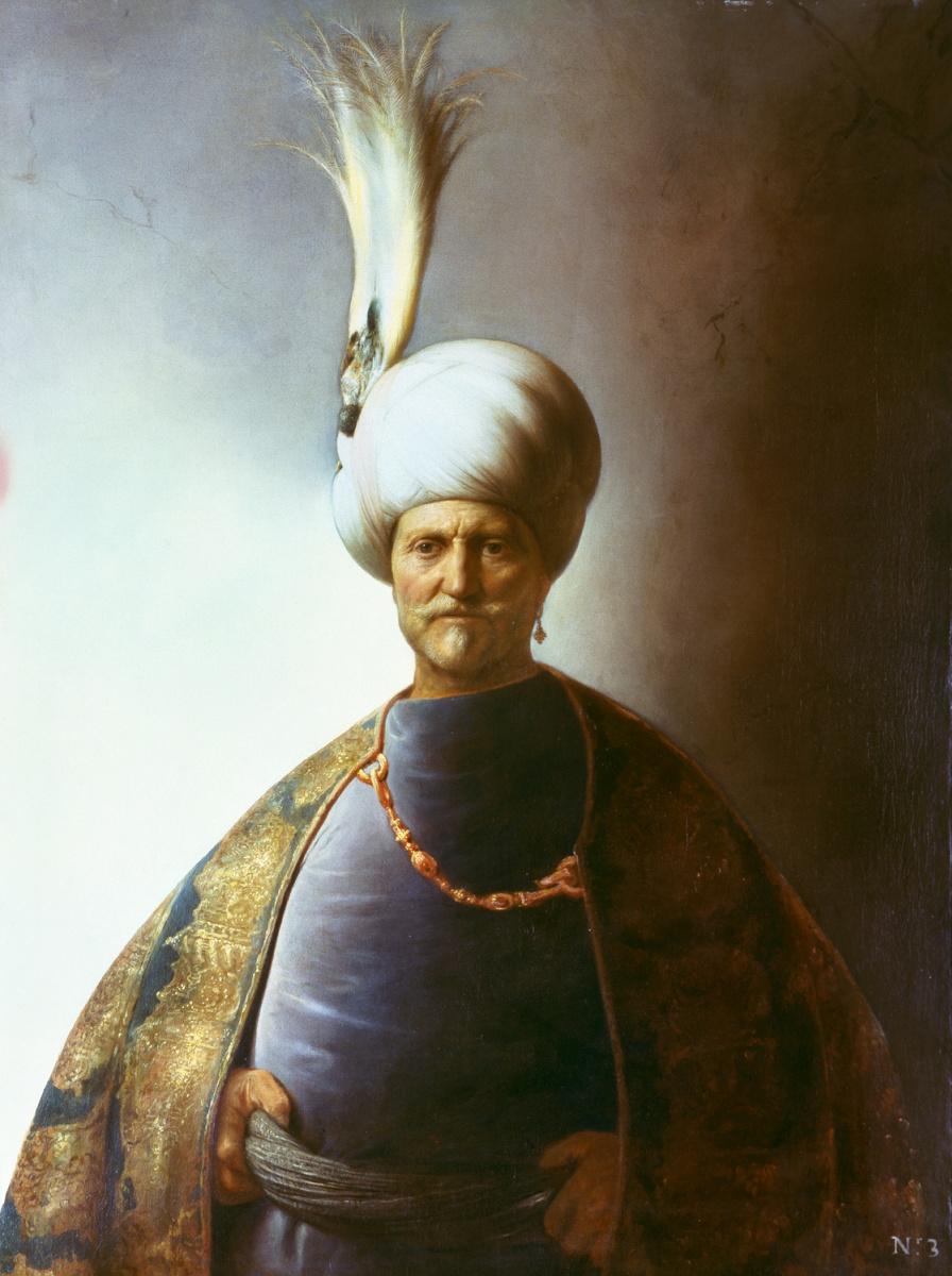 Ян Ливенс. Портрет пожилого мужчины в тюрбане (Султан Солиман)