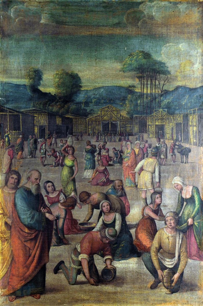 Лоренцо Коста. История Моисея